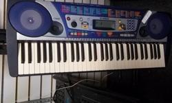 $110 Yamaha PSR 260 Portable Keyboard
