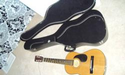 $115 Acoustic Guitar + Case!!!