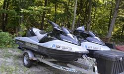 $11,000 2-2005 GTX Limited Seadoo Supercharged waverunners