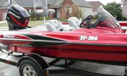 $11,900 Triton TR-186, Mercury 150 XR6 (Chattanooga, TN)