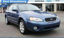 $11,995 2007 Subaru Legacy Sedan Outback Ltd
