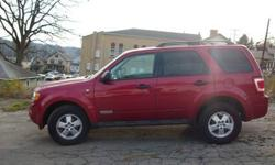 $11,995 2008 Ford Escape Xlt-Red
