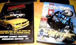 11 Motorcycle/Chopper/Car/Truck Racing Pro Series Dvd's -