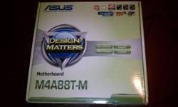 $120 Asus M4a88t-M motherboard