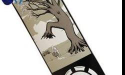 $120 BAM Margera Future is Nature Complete Skateboard