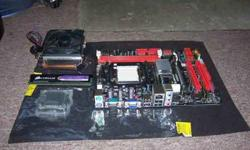 $120 Biostar N68S+ AM3 Motherboard, CPU and Memory Combo