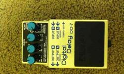 $120 BOss dd-7 Delay Pedal (Pleasant Grove)