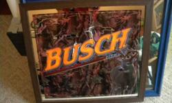 $120 Busch Beer Hunting Mirror (Central City, Ne)
