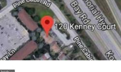 120 Kenney CT Dover, R-10565 Move in ready townhome close to