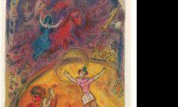 $120 Le Cirque 4- Chagall - Limited Edition on Canvas