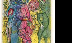 $120 Le Cirque 6- Chagall - Limited Edition on Canvas