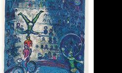 $120 Le Cirque VII- Chagall - Limited Edition on Canvas