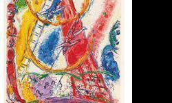 $120 Le Cirque VIII- Chagall - Limited Edition on Canvas