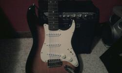 $120 OBO Fender Squire Bullet Strat Electric Guitar w/ 15w