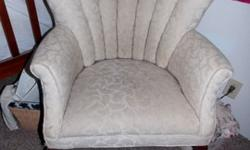 $120 Petite Wingback Chair with Channels
