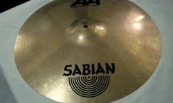 "$120 Sabian 20"" AA Medium Heavy Ride Cymbal (mpls)"