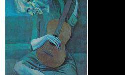 $120 The Old Blind Guitar Player- Picasso- Limited Edition
