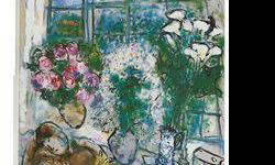 $120 The White Window- Chagall - Limited Edition on Canvas