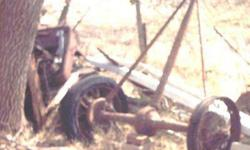 $125 1929-30 Ford Model 'A' , rear wheels attached to Axle