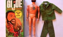 $125 1970 GI JOE Talking Commander Near mint Condition in