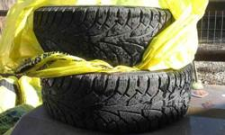 $125 4 Studded snow tires (horseshoe Bend)