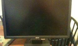 $125 Acer LCD Monitor (Pleasant Grove)