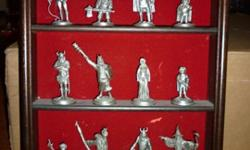 $125 JRR Tolkien Lord Of The Rings Pewter Figures Set