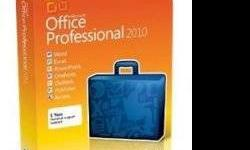 $125 Microsoft office professional 2010