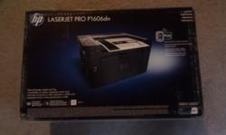 $125 OBO HP LaserJet Pro P1606DN Workgroup Laser Printer