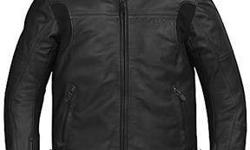 $125 Rev'It Leather Jacket, 42 US, 52 EU, Very good