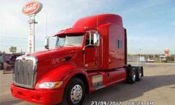 $126,500 2013 Peterbilt 386 Tandem Axle Sleeper