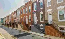 126 N Bradford St Baltimore, Well Maintained Three BR 2