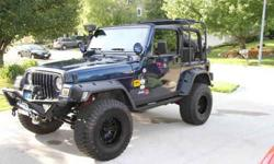 $12,000 2001 Jeep Wrangler LOADED MINT CONDITION *Must Sale