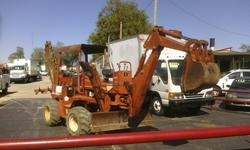 $12,500 1993 Ditch Witch 5110 Trencher/ Backhoe Tractor For