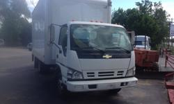 $12,500 2006 Isuzu 16ft Box Truck For Sale