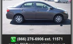 $12,500 2009 Toyota Corolla Base Sedan