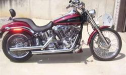 $12,500 Harley-Davidson Softail motorcycle for sale