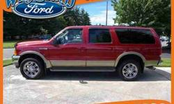 $12,898 2000 Ford Excursion Limitd 4wd