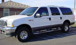 $12,997 2003 Ford Excursion XLT 6.8L 4WD for sale.