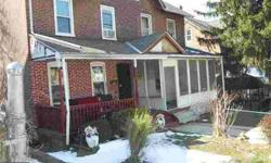 136 S 3rd Ave Coatesville Three BR, Spacious home with many