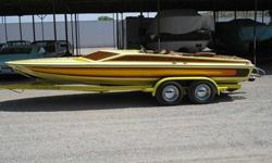 $13,500 1977 Eliminator Day Cruiser Jet Boat