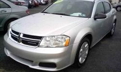 $13,799 2011 Dodge Avenger Express Sedan 4D