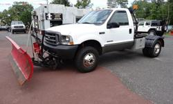 $13,995 2002 Ford F350 SD XL 4WD DRW Cab and Chassis
