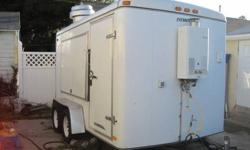 $13,995 CARSON TRAILER 2005 HI WAY Enclosed Concession Food