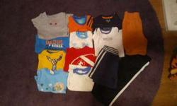 13 pieces boys clothing size 24 months