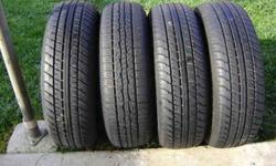 $140 4 P185/75R14 used tires really good shape