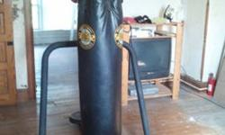 $145 Heavy Bag Stand with Speed Bag