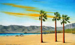 $149 Santa Monica Art Canvas Directly from the Artist!