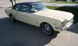 $14,000 1965 Ford Mustang Yellow, 3000 miles