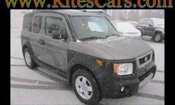 $14,450 Used 2005 Honda Element EX 4WD 4-spd AT, 79,500